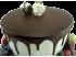 Свадебный торт двухъярусный № 280