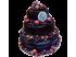 Свадебный торт шоколадный с ягодами № 151