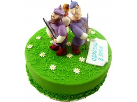 Детский торт Три богатыря № 260