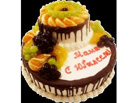 Юбилейный торт Маме с Юбилеем № 153
