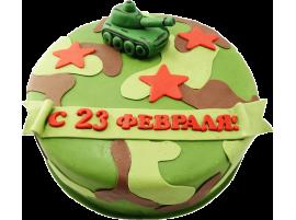 Торт С 23 февраля № 326
