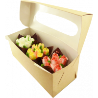 "Капкейки ""Тюльпаны"" (3шт)"