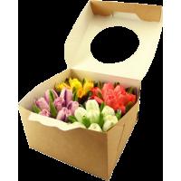 "Капкейки ""Тюльпаны"" (4шт)"