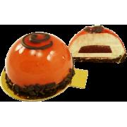 Пирожное муссовое Готье с клубничной начинкой